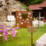 Wedding decoration rustic marriage ceremony decor wedding day