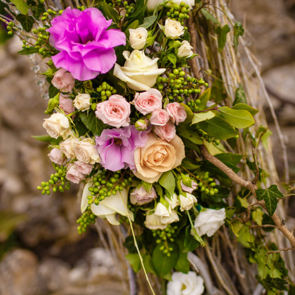 wedding decoration rustic style flowers catering